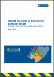 Report on a trial of emergency compost toilets, 2013