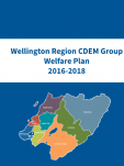 Wellington Region CDEM Group Welfare Plan 2016 - 2018